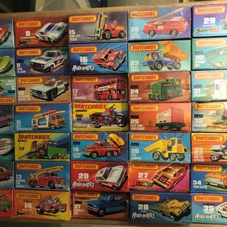 Lesney Matchbox 1-75 series, complete set unused in original boxes