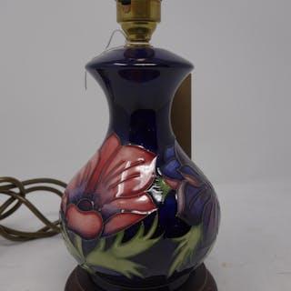 A moorcroft table lamp current sales barnebys aloadofball Choice Image