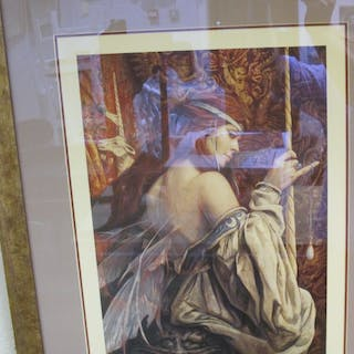 """Brian Froud (b. 1947) """"Tapestry"""" Limited edition artist's proof print"""