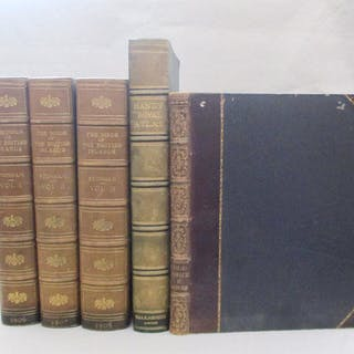 STONHAM (Charles) The Birds of the British Islands, in 5 vols. 1906-11