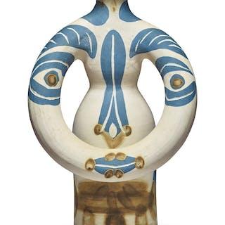 PABLO PICASSO   LAMPE FEMME (A.R. 299)