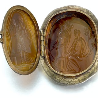 SOUTHERN GERMAN, PROBABLY AUGSBURG, 17TH CENTURY   TRINKET BOX WITH