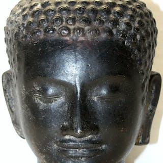 Messingguss Buddhakopf