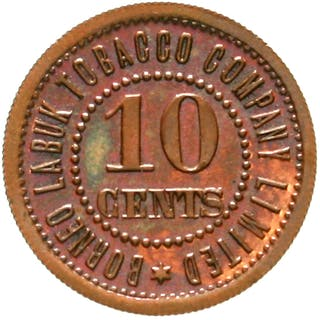 10 Cents Token Kupfer o.J.(1900/1924)