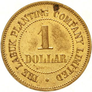1 Dollar Token Messing o.J.(um 1900)