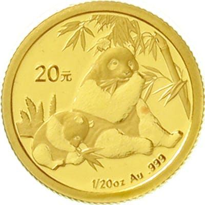 20 Yuan GOLD 2007