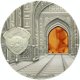 10 Dollars Silbermünze (2 Unzen) 2014