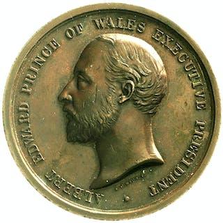 Bronzemedaille 1886 von Wyon