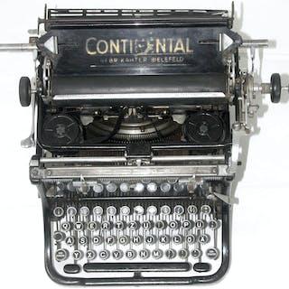 Schreibmaschine des Herstellers CONTINENTAL (Gebr