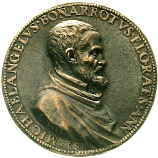 Bronzegussmedaille o.J.(1563) von Leone Leoni
