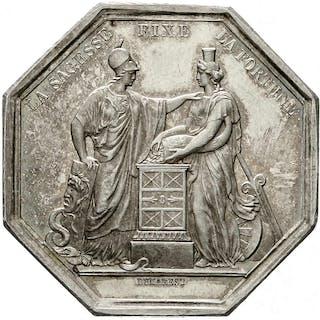 Silberjeton AN VIII (1799/1800) von Dumarest