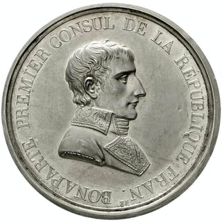 Silbermedaille AN IX (1801) von Bertrand Andrieu