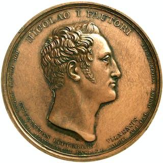 Bronzemedaille 1828 von Theodor Tolstoi