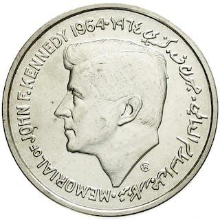 5 Rupees 1964 John F