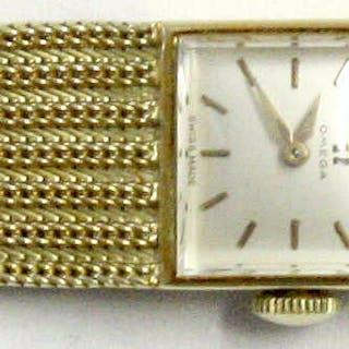 Damenarmbanduhr OMEGA mit Armband