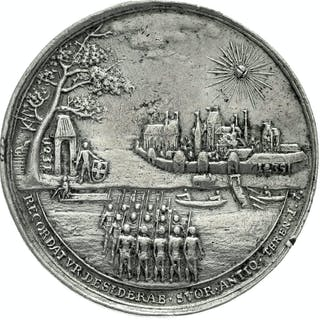 Zinnmedaille 1731