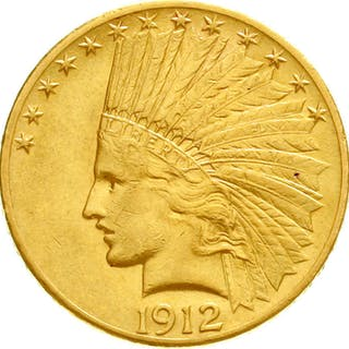 10 Dollars 1912