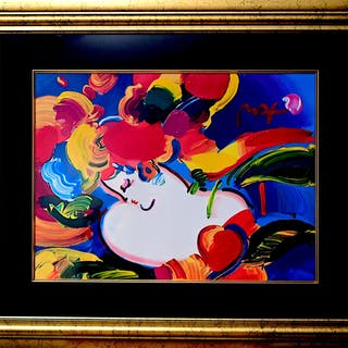 Flower Blossom Lady - Peter Max