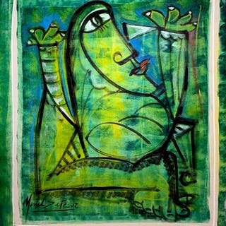 Mulher Verde - Menelaw Sete