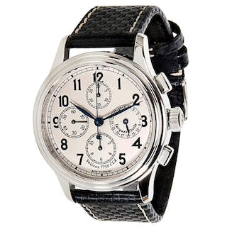 Jacques Etoile Monaco Quadriga Chronograph 3161 Men's Watch in Stainless Steel