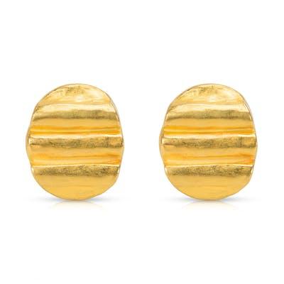 Denise Roberge Earrings in 22K Yellow Gold