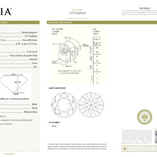 GIA Certified Round cut