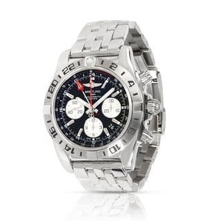 Unworn Breitling Chronomat 44 GMT AB0420B9/BB56 Men's Watch in  Stainless Steel