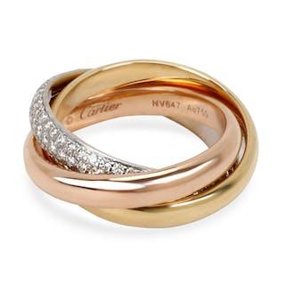 Cartier Trinity One Diamond Ring in 18K Rose