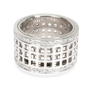 Gucci Diamond Spinning Ring in 18K White Gold (1.5 CTW)