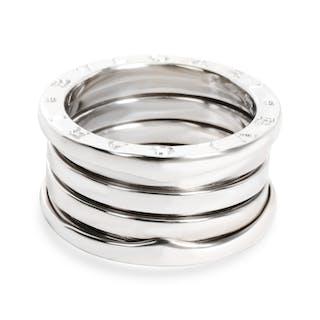 Bulgari B Zero Ring in 18K White Gold
