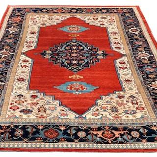 Antique Palace-size Vegetable Dyed Turkish Carpet