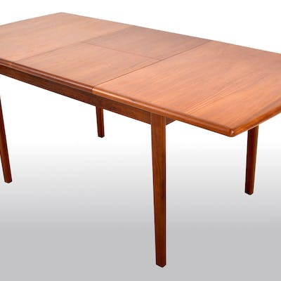 Mid Century Modern Danish Teak Erfly Leaf Dining Table