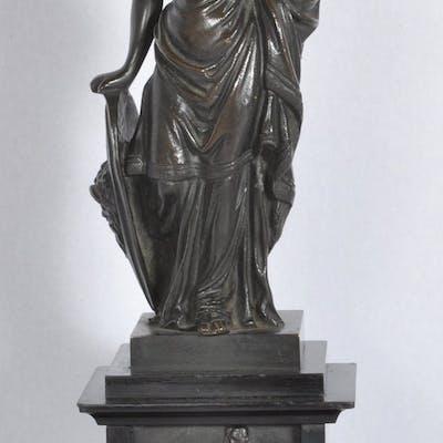Bronze Neoclassical Statue of Minerva
