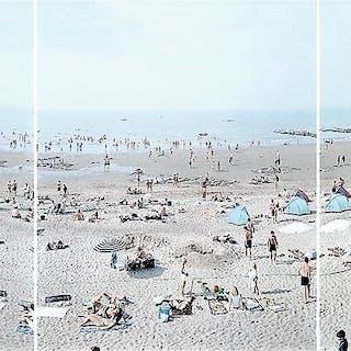 Knokke Triptych (Six, Seven, Eight), 2006 - Massimo Vitali
