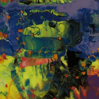 Aladin (Flow P11), 2014 - Gerhard Richter