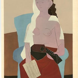 Femme Assise, 1930 - Pablo Picasso