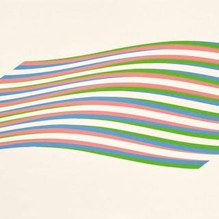 Untitled (Wave), 1975 - Bridget Riley