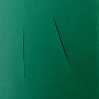 Concetto Spaziale, 1975 - Lucio Fontana