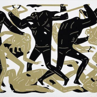 Between Man And God (White version), 2018 - Cleon Peterson