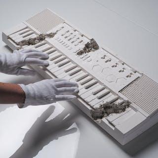 Future Relic 009 Keyboard, 2018 - Daniel Arsham