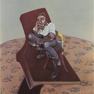 Lithograph 'Lucian Freud', 1966 - Francis Bacon