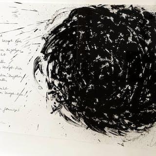 Alles ruht, einzelnes bewegt sich, 1987 - Gunther Uecker