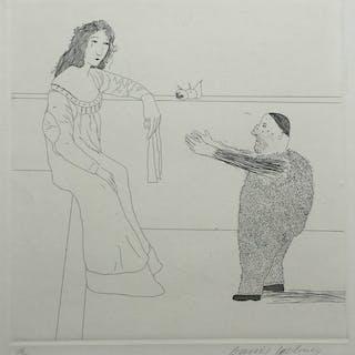 Pleading for the Child, 1969 - David Hockney