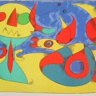 Zephir Vogel - Zephyr Bird, 1956 - Joan Miró