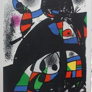 Untitled (from San Lazzaro et ses amis portfolio), 1975 - Joan Miró