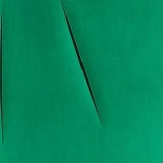 Concetto Spaziale (from San Lazzaro et ses amis portfolio), 1975 - Lucio Fontana