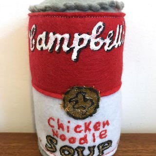 Campbell's Chicken Noodle Soup, 2014 - Lucy Sparrow