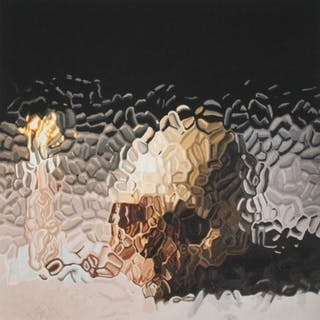 Skull and Candle, 2012 - Marcus Harvey