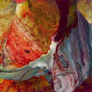Ifrit (Flow P8), 2014 - Gerhard Richter