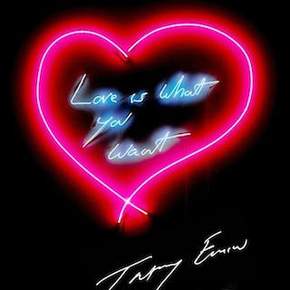Love is What You Want, 2015 - Tracey Emin